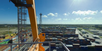 View from Ship-to-Shore Crane #4