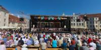 Folk Music Celebration on Town Hall Square