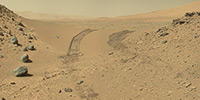 Sol 538 - Crossed over Dingo Gap dune